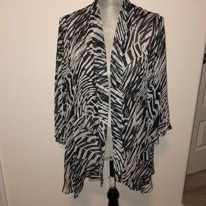 Slinky brand cardigan shawl L